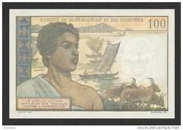 COMOROS P.  3b 100 F 1963 UNC - Comoros