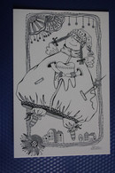 TOOTH FAIRY By Golubyatnikov - Tooth . Modern Russian Postcard - Teeth - Fiabe, Racconti Popolari & Leggende