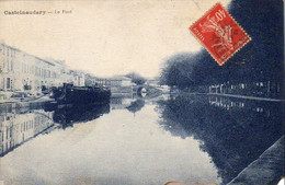 D11  CASTELNAUDARY  Le Pont  ......... Avec Péniche à Gauche - Castelnaudary