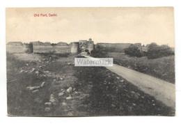 Old Fort, Delhi - Postcard Postmarked 1912 At Maiden's Hotel, Delhi - India