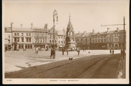Angleterre ---   Market  Place  , Mansfield - Otros