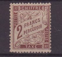 FRANCE : T N° 26 * . TB . 1884 .  ( CATALOGUE YVERT ) . - 1859-1955.. Ungebraucht