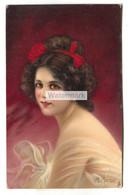 """M. Marco - """"Blanche"""", Young Woman - Old Tuck Postcard No. 2763 - Altre Illustrazioni"""