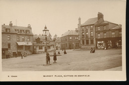 Angleterre ---    Market Place, Sutton - In - Ashfield - Otros