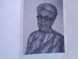 Doodsprentje/Bidprentje   ANGELE TEMPELAERE  Lichtervelde 1912-1987 Gistel (Echtg GEORGES DECLERCQ) - Religion & Esotericism