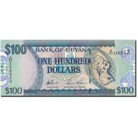 Billet, Guyana, 100 Dollars, Undated (2006), KM:36a, NEUF - Guyana