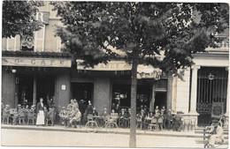 03 . MOULINS  --  CARTE PHOTO CAFE DE FRANCE Maison Jacques KIBIER  --  35 PLACE D' ALLIER --  Tel 0.26 - A Identifier