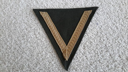 Gefreitenwinkel Uniform Militär Wehrmacht Winkel 2 WK Repro - 1939-45