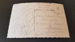 Lac De Barberine - Stempel Cafe Restaurant Des Montuires Chatelard Finhaut - Unclassified