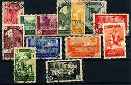 Marruecos Español Nº 133/47 Y NE11. Año 1933/35 - Maroc Espagnol