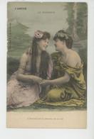 """FEMMES - FRAU - LADY - Jolie Carte Fantaisie Couple Femmes """"L'AMITIÉ """" - Le Bonheur - Edit. G.I.D. NANTES - Femmes"""