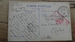 Tampon Hopital Mixte Saint Etienne - 1918 Sur Cpa ................ 5471 - Oorlog 1914-18