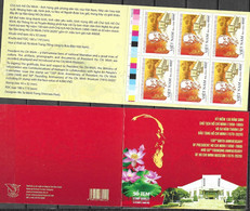 VIETNAM, 2020, MNH, MUSEUMS, HO CHI MINH, HO CHI MINH MUSEUM, BOOKLET OF 10v - Museen
