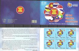 VIETNAM, 2020, MNH,ASEAN, BOOKLET OF 10v - Sonstige