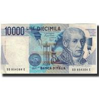 Billet, Italie, 10,000 Lire, KM:112b, TTB - 10000 Lire