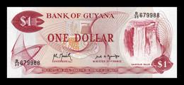Guyana 1 Dollar 1992 Pick 21Ga SC UNC - Guyana