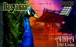 SCHEDA PHONECARD FRANCE DAYANAA DTSS ASIA PEACOCK 30 JUIN 2000 0040008037 - Prepaid Cards: Other