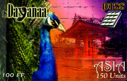 SCHEDA PHONECARD FRANCE DAYANAA DTSS ASIA PEACOCK 30 JUIN 2000 0045003305 - Prepaid Cards: Other
