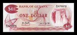 Guyana 1 Dollar 1992 Pick 21Ga Capicua Radar SC UNC - Guyana