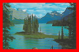 CPSM/pf ALBERTA (Canada)  The Narrows, Maligne Lake. Jasper Park...C918 - Jasper