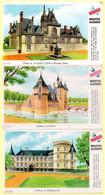 Lot De 6 Buvards Grégoire. Châteaux De Chenonceaux, Lassay, Chaumont/Loire, Rambouillet, Hôtel Jacques Coeur. - Zwieback