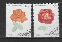 MONACO 1992 Yv 1839/40 Obli - - Used Stamps
