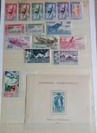 Bon Lot De( ** ) ( * ) & ( ° ) Séries Complètes Et Incomplètes Dont P.A....taxe ..à Voir ! - Unused Stamps