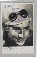 CYCLISME. Carte Postale Dédicacée De Raffaelo DI PACO. Vainqueur De 11 étapes Du Tour De France Des Années 30 - Cycling