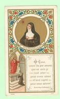 Y129 - Image Religieuse, Chromo Pieuse - Illustration, Bienh Marg. M. Alacoque - Images Religieuses