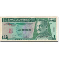 Billet, Guatemala, 1 Quetzal, 1992, 1992-01-22, KM:80, TTB - Guatemala