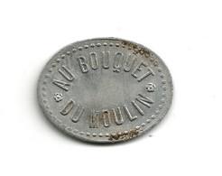 JETON De BAL // AU BOUQUET DU MOULIN // BARNAY - Non Classificati