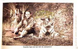 Chouette Carnet Complet Safari Chasse Trophées - LA CHASSE EN INDOCHINE Par M. DEFOSSE Ed. Photo Nadal ( ͡♥͜ʖ ͡♥) ♥ - Hunting