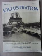 HEBDOMADAIRE L ILLUSTRATION N°4905 DU 06 MARS 1937 - 1900 - 1949