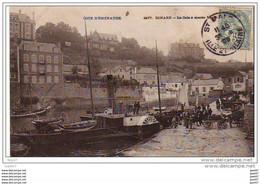 Cpa  (  Dep 35 )  à DINARD   La  Cale A Marée Haute   En  1905 - Dinard