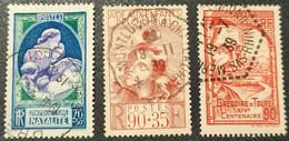 N° 428/440/442  Avec Oblitération Cachet à Date D'Epoque De 1939/42  TB - Used Stamps
