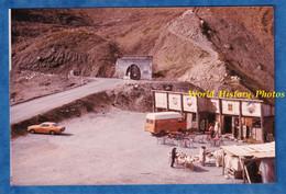 Photo Ancienne Snapshot - Bar Prés Du Tunnel Du GALIBIER - Automobile & Camion à Identifier - Saint-Michel-de-Maurienne - Cars