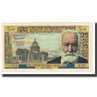 France, 5 Nouveaux Francs, Victor Hugo, 1962, G.Gouin - 5 NF 1959-1965 ''Victor Hugo''