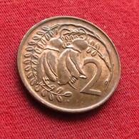 New Zealand 2 Cents 1973 KM# 32.1 Nova Zelandia Nuova Zelanda Nouvelle Zelande - New Zealand