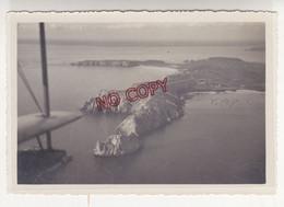 Archive élève Officier Ecole Navale Brest Promotion 1934-1936 Photo Aérienne Bretagne Village Breton Beau Format - War, Military
