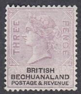Bechuanaland, Scott #13, Mint No Gum, Queen Victoria, Issued 1887 - 1885-1895 Colonie Britannique