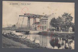 La Croyère - Pont Du Canal - Postkaart - La Louvière