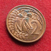 New Zealand 2 Cents 1987 KM# 59 Nova Zelandia Nuova Zelanda Nouvelle Zelande - New Zealand