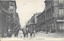 1914 - FIRMINY - Rue Nationale - Firminy