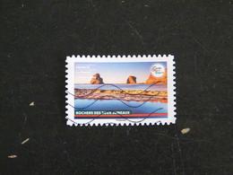 FRANCE YT ADHESIF ???? OBLITERE - ROCHERS DES DEUX JUMEAUX HENDAYE PAYS BASQUE - CARNET FRANCE TERRE DE TOURISME - Adhesive Stamps
