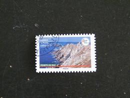 FRANCE YT ADHESIF ???? OBLITERE - POINTE DU RAZ BRETAGNE FINISTERE - CARNET FRANCE TERRE DE TOURISME - Adhesive Stamps
