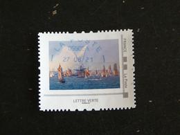 FRANCE MONTIMBRAMOI COLLECTOR OBLITERE - LES JETS DE L'ABEILLE BOURBON S.N.S.M SAUVETEURS EN MER - Personalized Stamps (MonTimbraMoi)