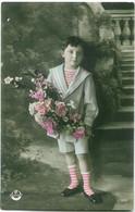 291 - Garçon Avec Des Fleurs - Autres