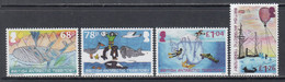 2020 British Antarctic Territory Anniversary Of Discovery Whales Penguins Ships Complete Set Of 4 MNH @ BELOW FACE VALUE - Unused Stamps