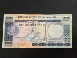SOMALIA 100 SHILIN / SHILLINGS BANKNOTE 1980 AU P-28 - Somalia