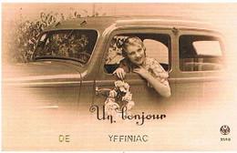 22  UN  BONJOUR  DE   YFFINIAC  CPM  TBE   715 - Altri Comuni